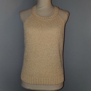 J. Crew knit halter top size medium